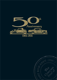 50th Anniversary book of memories
