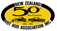 NZHRA 50th Logo