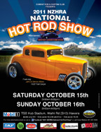 2011 NZHRA National Hot Rod Show