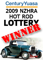 2009 Hot Rod Lottery